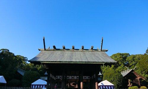 宮崎神宮外觀