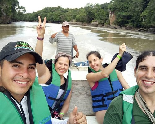 Ruta RUPESTRES: terminando la tarde en raudal del Guayabero