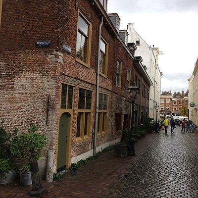 Museum on street corner