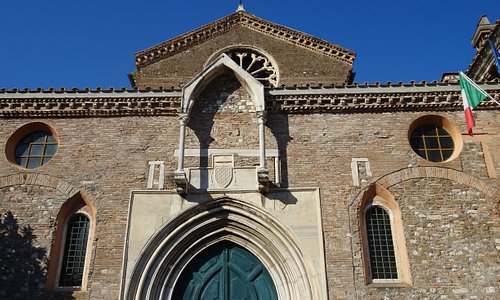 Architecture evokes the church's medieval past