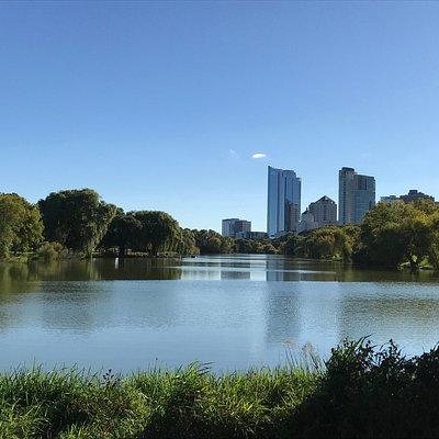Lake at Veterans Park