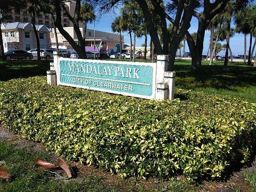 Park near the beach