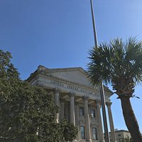11-29-17 U.S. Custom House Charleston; view from East Bay Street (front).