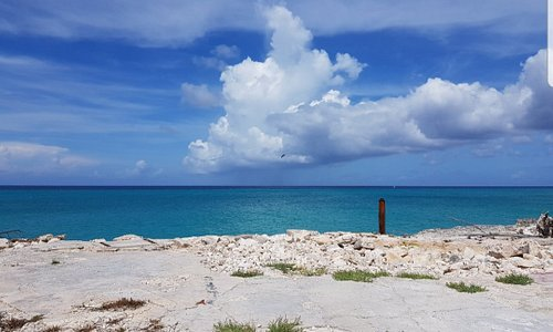 Beautiful sky and sea everyday in Inagua