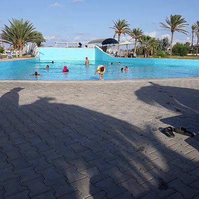 La piscine à vagues ne fonctionnant pas