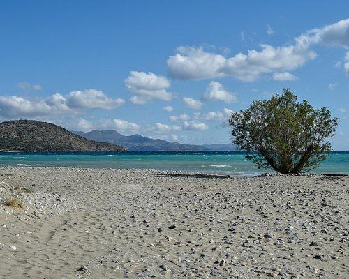 Agios Panteleimonas Beach, Agios Nikolaos - Awarded with a Blue Flag   ΔΑΕΑΝ