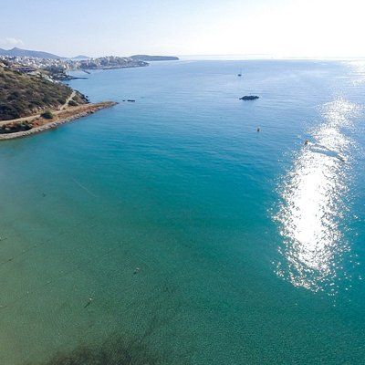 Almiros Beach, Agios Nikolaos - Awarded with a Blue Flag | ΔΑΕΑΝ