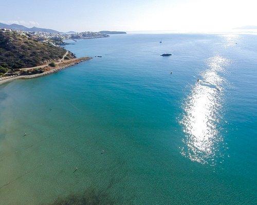 Almiros Beach, Agios Nikolaos - Awarded with a Blue Flag   ΔΑΕΑΝ