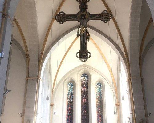 Peaceful feeling church. Beautiful.
