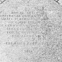 Eleanor Roosevelt Monument