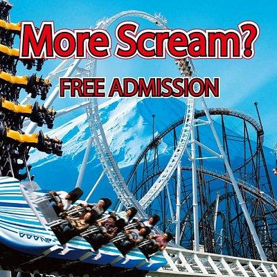 more scream? free entry
