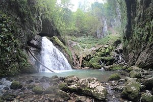 Cheile Galbenei gorge