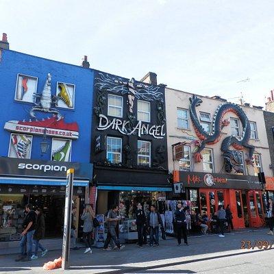 As fachadas supercriativas e surpreendentes das lojas de Camden Town.