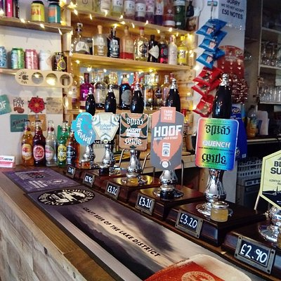Cask Ales and gins