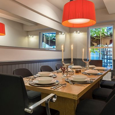 Private dining. Up to 8 people.