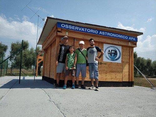 Il nostro osservatorio sito presso la Pizzeria Prato di Coppola - Via del Lido km 4,200 - Latina