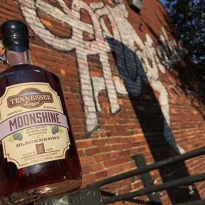 Blackberry Moonshine is a local favorite