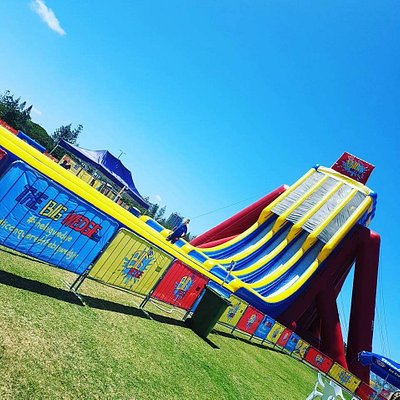 The Big Wedgie - World's Tallest Inflatable Waterslide
