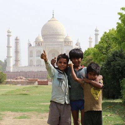 One of Seven Wonders of the World - The Taj Mahal