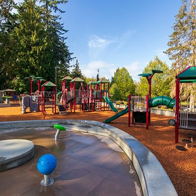 Large play structures