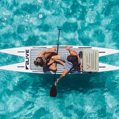 Catamaran Paddle Board Hire. Unique, Innovative and built for the pursuit of pleasure.