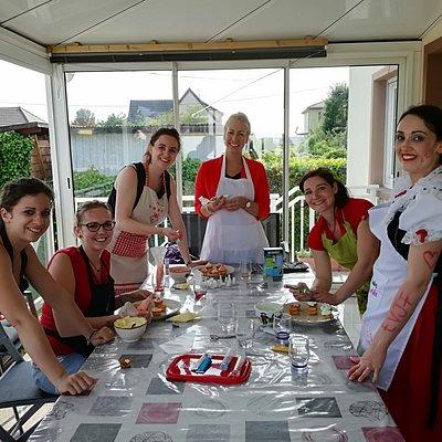 Cours de cuisine festif anniversaire EVJF