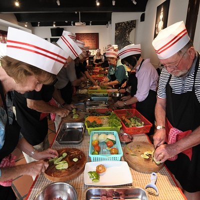 Group Cooking Class guided by our experienced chef