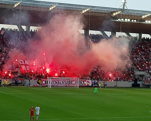 The football shrine of Miskolc