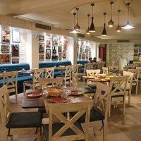Tasteful decor and clean premises