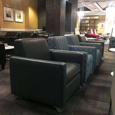 Nice comfy chairs