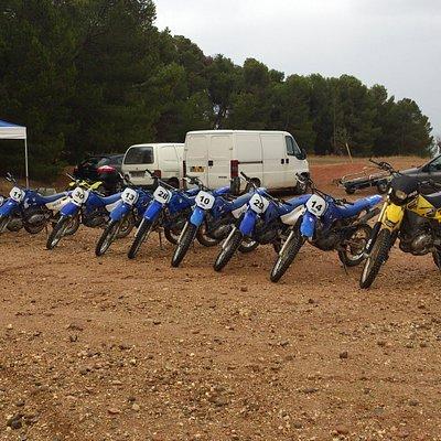 flotte motocross sur place