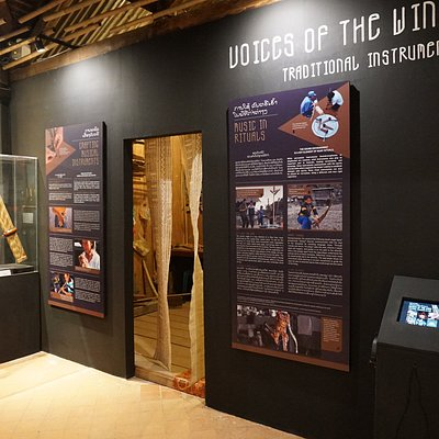 "Special Exhibition ""Voices of the Wind: Traditional Instruments in Laos""."