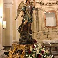 Statua del Santo venerata nella Chiesa parrocchiale a lui dedicata.