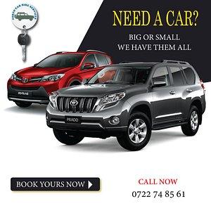 car rental Kenya with Porto Car Hire Kenya