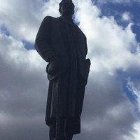 Памятник Максиму Горькому на площади Тверской Заставы.