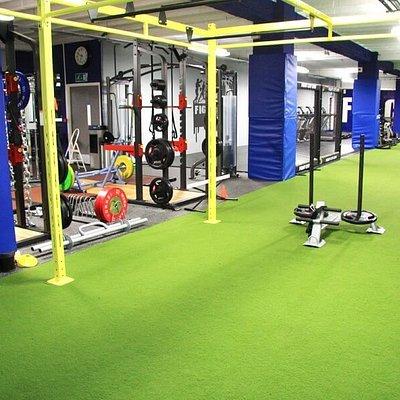 Fight City Gym Training Area