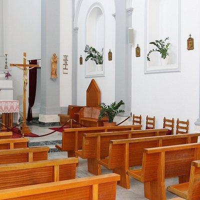 La rénovation de cette église est due au prêtre diocésain Andreas Marzohl de Lucern en Suisse