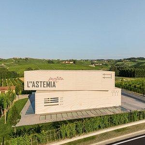 "L""ASTEMIA PENTITA - external view"