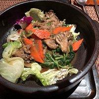 Organic Maitake Mushrooms With Spinach