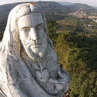 Cristo em imagem aéra. Foto: Portal Vvale/Skill FX