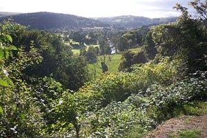 The vale of Llangollen