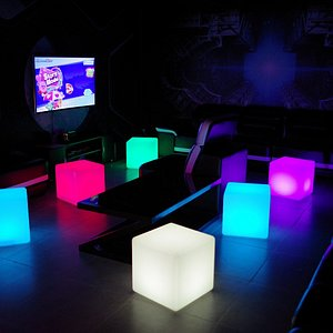 Neon Party Room