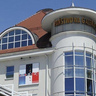 budynek Pańśtwowej Galerii Sztuki w Sopocie, fot. sopot.fotobank.pl