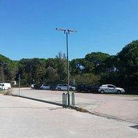 Parcheggio del giardino botanico litoraneo