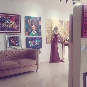Cross section of works I saw @ Kulture Kode Art Hub.