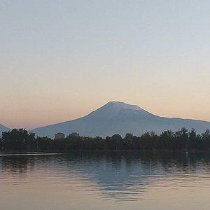 Mount Ararat view from Lyon Park