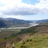 Looking down towards Barmouth