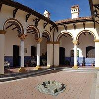 Patio Andaluz - Castillo Mudejar - Pueblo Encanto