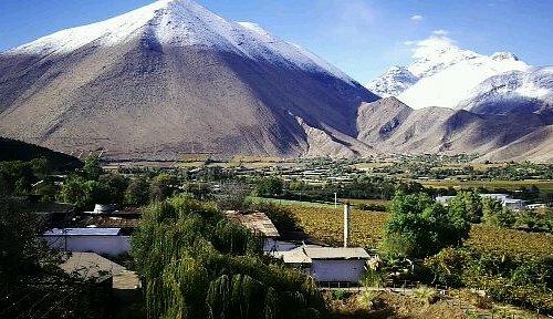 Linda vista de Pisquera Aba con el Cerro de Peralillo de Fondo