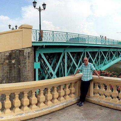 the Eiffel Bridge in Saigon